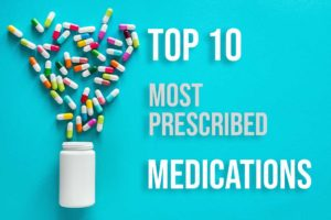 Top 10 Most Prescribed Drugs